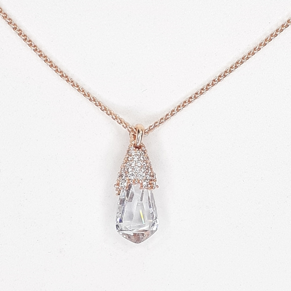 Kendra Scott Rose Gold Colby Necklace. NWT